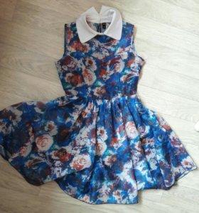 Шифиновое платье