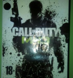 Диск Call of Duty mw3