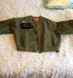 Бомбер Куртка ветровка женская