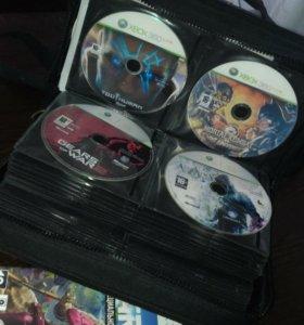Пиратские диски на икс бокс 360 и лицензионные.