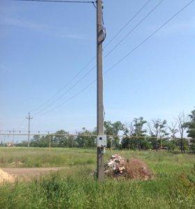 Столб электрический бу