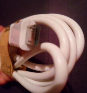 Кабель usb новый зарядка для телефона