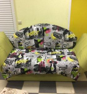 Одноместный диван кровать