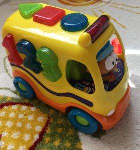 Интерактивная игрушка автобус
