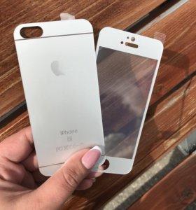 Матовые стёкла на iPhone 5,5s