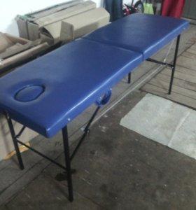 Массажный стол с вырезом и заглушкой