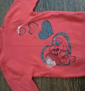 Кофта свитер на рост 120си