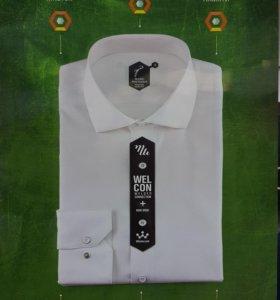 Мужские сорочки 100%-хлопок не требующие глажки.