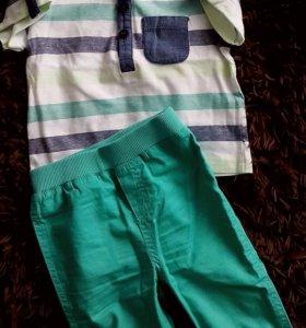 Стильный костюм (штаны и футболка) Topomini 68