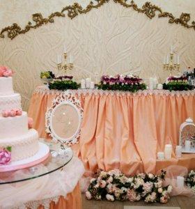 Аренда свадебных принадлежностей
