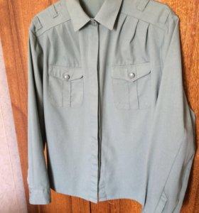 Новая женская военная рубашка