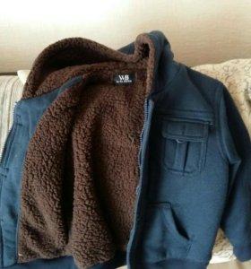 Куртка для мальчика 3-4 лет (утепленная )