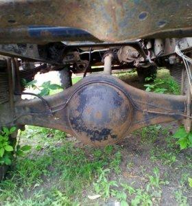 Рама с кабиной в сборе ГАЗ-53 самосвал