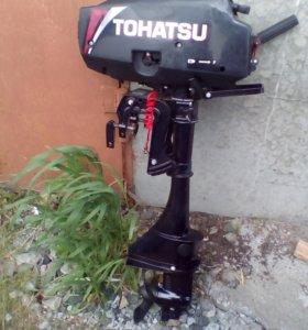 Лодочный мотор- ТОНАТSU-3,5л,+ запасной винт,