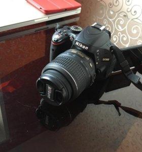 Зеркальный фотоаппарат Nikon D5100. Идеальное сост
