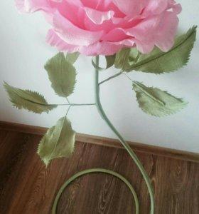 Ростовая роза на заказ