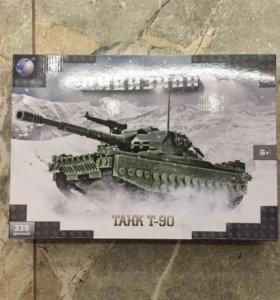 Новый конструктор танк т90