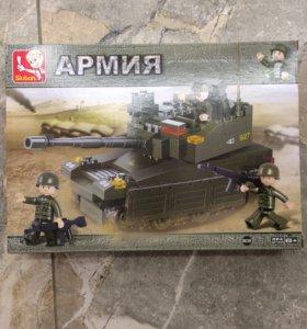 Новый конструктор танк.