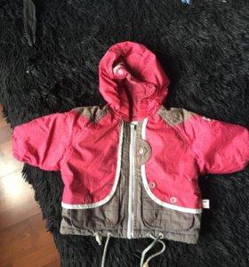 Курточка весенне-осенняя 68 см