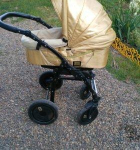 Золотая коляска,для золотого ребенка 2в1