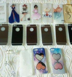 Новые силиконовые и пластиковые чехлы на Айфон