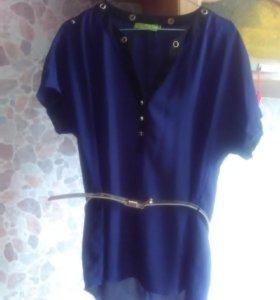Красивая блуза,48