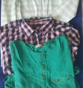 Рубашка, туника, кардиган