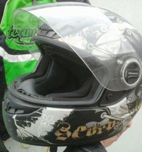 Мото шлем Scorpion(Япония)