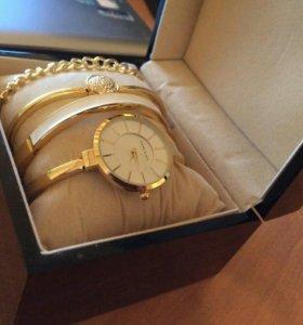 Часы браслеты Аnna Klein в коробочке