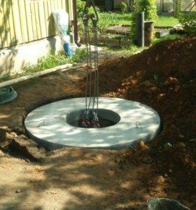 Строительство загородной канализации