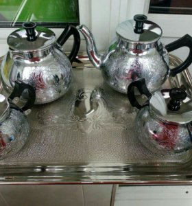 Чайно - кофейный сервиз винтаж.