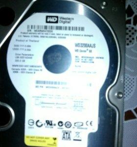 Жёсткий диск 320 GB б/у.