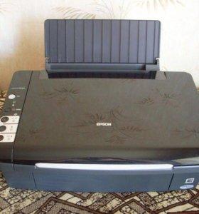 МФУ принтер epson cx4300