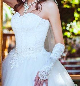 Свадебное платье, размер 40-46