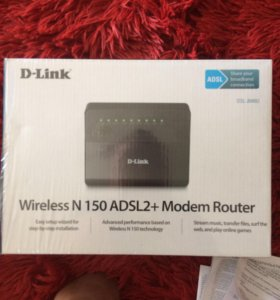 Роутер DSL-2640U