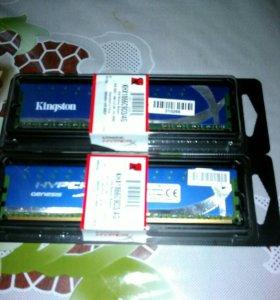 Kingston DDR3 2X 4GB.