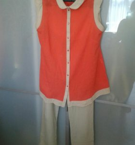 Летний костюм для беременных 46-48