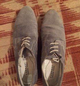 Мужские замшевые туфли Carnaby