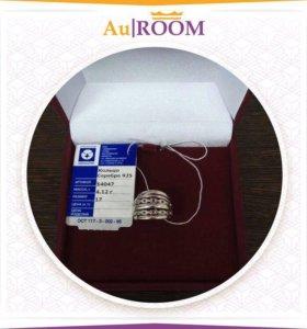 Серебряное кольцо 4,12 гр