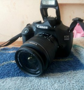 Продаю фотоаппарат canon EOS 1200D