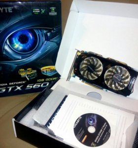 NVidia GeForce GTX 560 Ti 1GB 256Bit