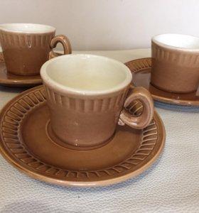 Ссср чайный сервиз на 3 персоны