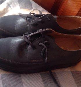 Туфли мужские кожанные