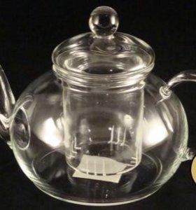 Чайник стеклянный Ирбис 600 мл