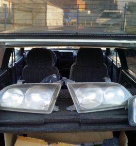 Фары и габариты на Toyota ipsum