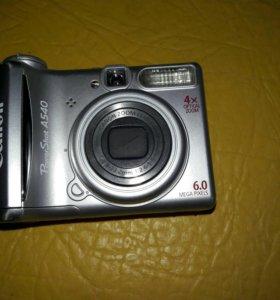 Фотоаппарат Canon Power Shot A540