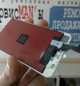 Дисплей iPhone 5S + тачскрин + рамка ААА