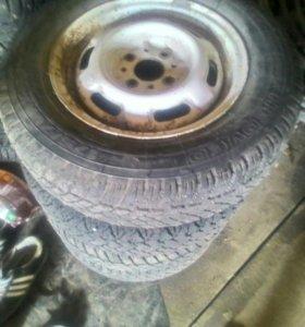 Зимние колеса ваз 13