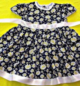 Новое платье 92размер