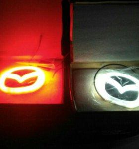 Логотип Mazda 4d